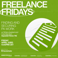 Freelance Fridays: - Finding and Securing PA Work