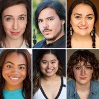 Images of six actors