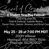 Secret of Creativity - A Student New Play Festival