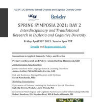 April 30 Symposia 2021 Flyer and Registration