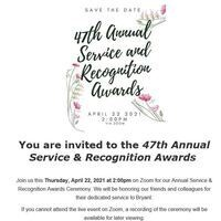 47th Annual Service & Recognition Awards
