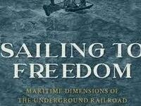 Decorative Art Book Cover Sailing to Freedom