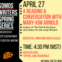 A reading and conversation with Mary-Kim Arnold