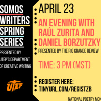 An Evening With Raúl Zurita and Daniel Borzutzky