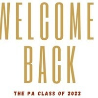 Welcome Back PAs!
