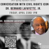 A Conversation With Civil Rights Icon Dr. Bernard Lafayette, Jr.