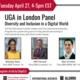 UGA in London Panel: Diversity and Inclusion in a Digital World