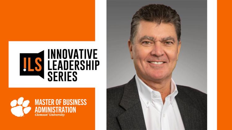 David Snow, Chairman & CEO of Cedar Gate Technologies, presented by the Clemson MBA Innovative Leadership Series