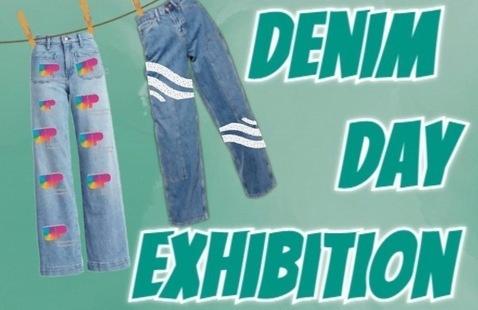 Denim Day Exhibition Poster
