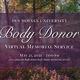 Des Moines University 2021 Body Donor Virtual Memorial Service