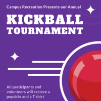 KICKBALL with Campus Recreation