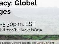 Democracy: Global Challenges
