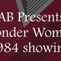 SAB Presents: Wonder Woman 1984 Watch Party