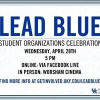 LeadBlue Student Organization Celebration 2021