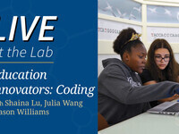 Live At the Lab: Education Innovators, CODING