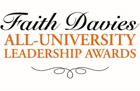 Faith Davies All-University Leadership Awards Ceremony