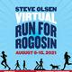 Steve Olsen VIRTUAL Run for Rogosin