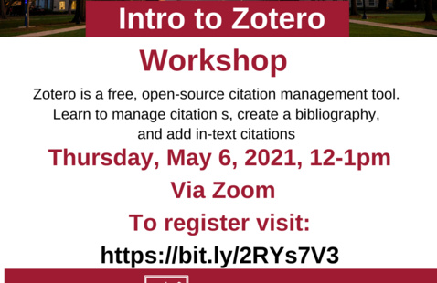 Workshop: Getting Started With Zotero