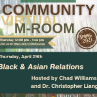 Community M-Room: Black & Asian Relations | Multicultural Affairs