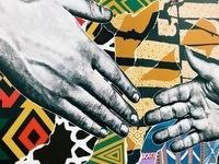 Buffalo mural wall art
