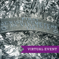GENEALOGY VIRTUAL WORKSHOP   Portals to a Jewish Heritage: Researching Jewish Genealogy with a Southern Accent