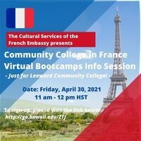 Community College in France Virtual Bootcamps Info Session