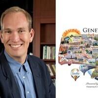 Genetown Map and Dr. Robin Scheffler