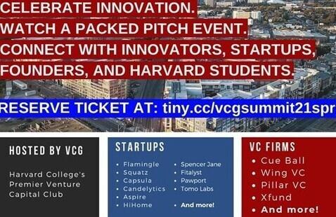 VCG Semi-Annual Startup-VC Event poster