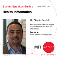 Health Informatics & Community-based Research with Dr. Charles Senteio