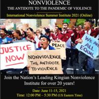 International Nonviolence Summer Institute 2021 (Online)