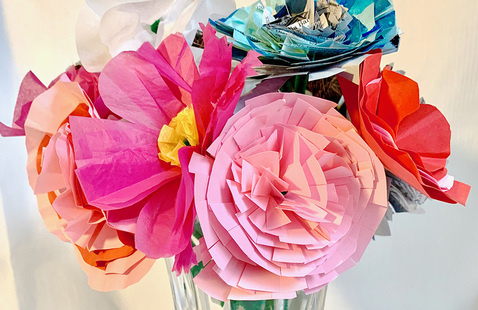 Breakfast with Tiffany: Paper Flowers