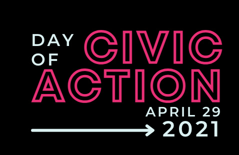 Day of civic action poster