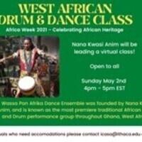 Africa Week: West African Drum & Dance Class