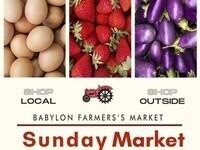 Opening Day at Babylon Village Market