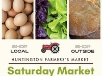 Opening Day at the Huntington Village Farmers Market