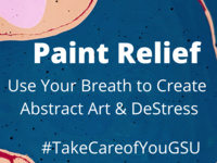 Paint Relief: Use Your Breath to Create Abstract Art