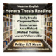 Webster English Honors Thesis Reading