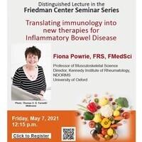 Friedman Center - MAY 7