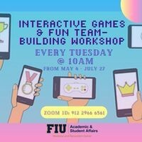 Interactive Games and Fun Teambuilding Workshop
