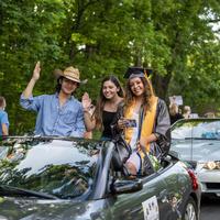 Drive-thru Graduation Parade