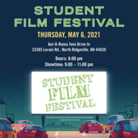 CSU FMA Student Film Festival, Thursday May 6th at 9pm
