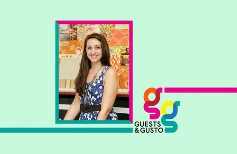 Market a historic brand to contemporary audiences with designer Jillian Pyle on 'Guests and Gusto'