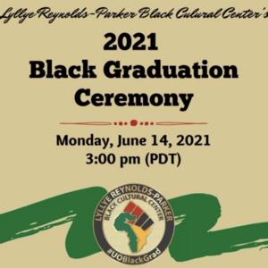 Event: Black Graduation Ceremony 2021