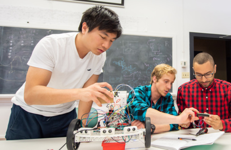 Computer Engineering, Electrical Engineering and Engineering Physics Senior Projects