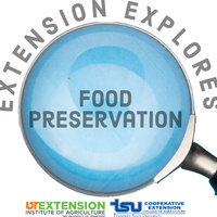 Extension Explores Food Preservation
