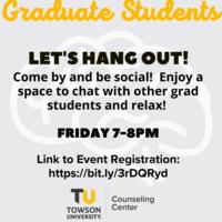 Virtual: Graduate Student Hangout
