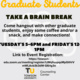 Virtual: Weekly Graduate Student Brain Breaks