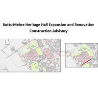 Construction Advisory: Butts-Mehre Heritage Hall Expansion & Renovation