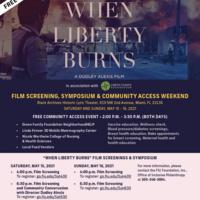 When Liberty Burns Flyer