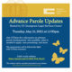 Advance Parole Updates Webinar